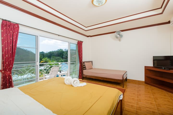 1 bedroom apt for 3 guests 55 m2 - Patong - Dom