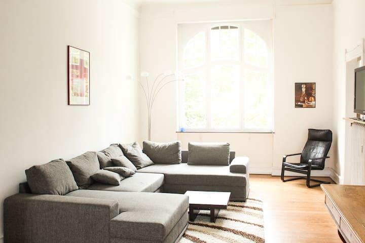 Extraordinary apartment in art nouveau villa