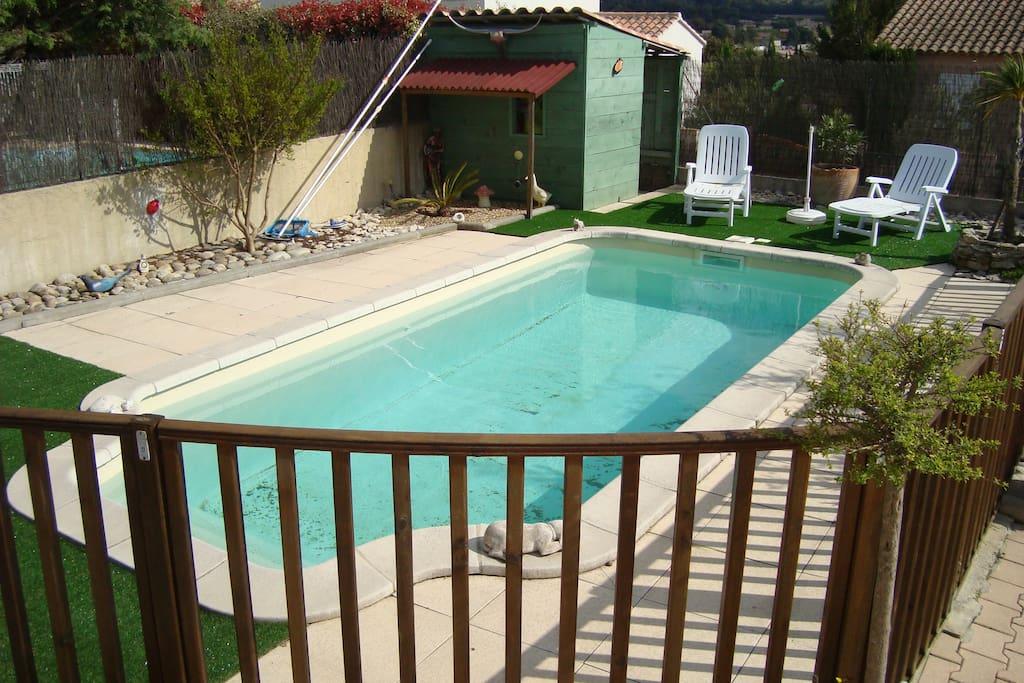 piscine partagée ou pas à la demande
