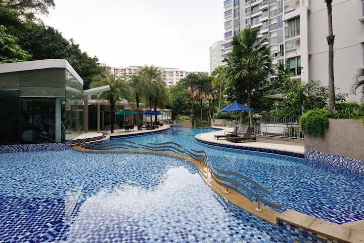 Cozy Condo Room Near Airport! - Singapur