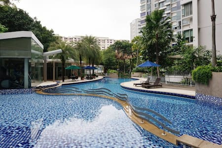 Cozy Condo Room Near Airport! - Singapura - Apartmen