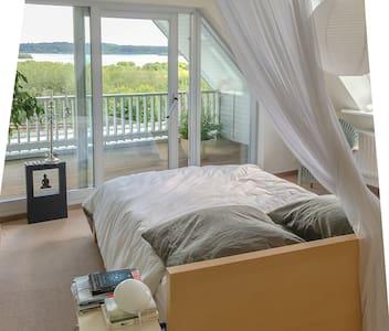 Urlaub mit Seeblick in einem Architektenhaus! - Preetz