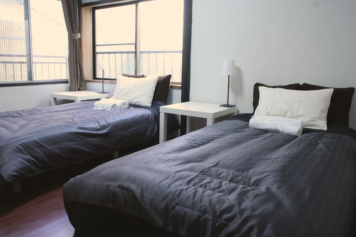 Twin beded room ! - Nagano - Casa