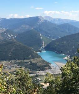 Appart 6 pers Au cœur des Alpes de haute Provence. - Saint-André-les-Alpes - Byt
