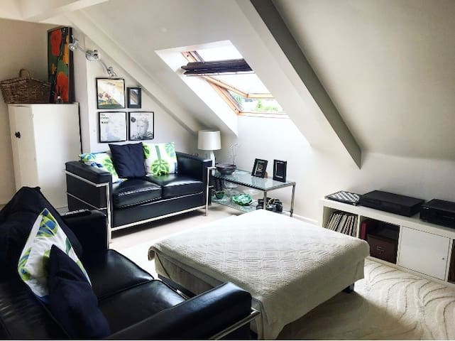 Self contained Loft in Detached Edwardian Villa