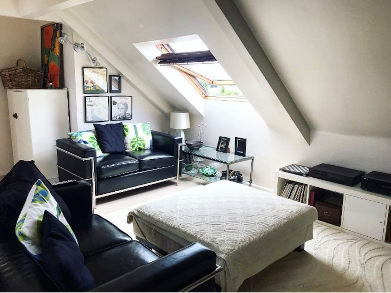 Living room area with beautiful views of the moors,2 sofas and large 46 inch TV, CD player ,wifi and turntable with old vinyls to play