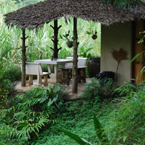 Riverside group house. Rainforest - Ranong, Thailand - House