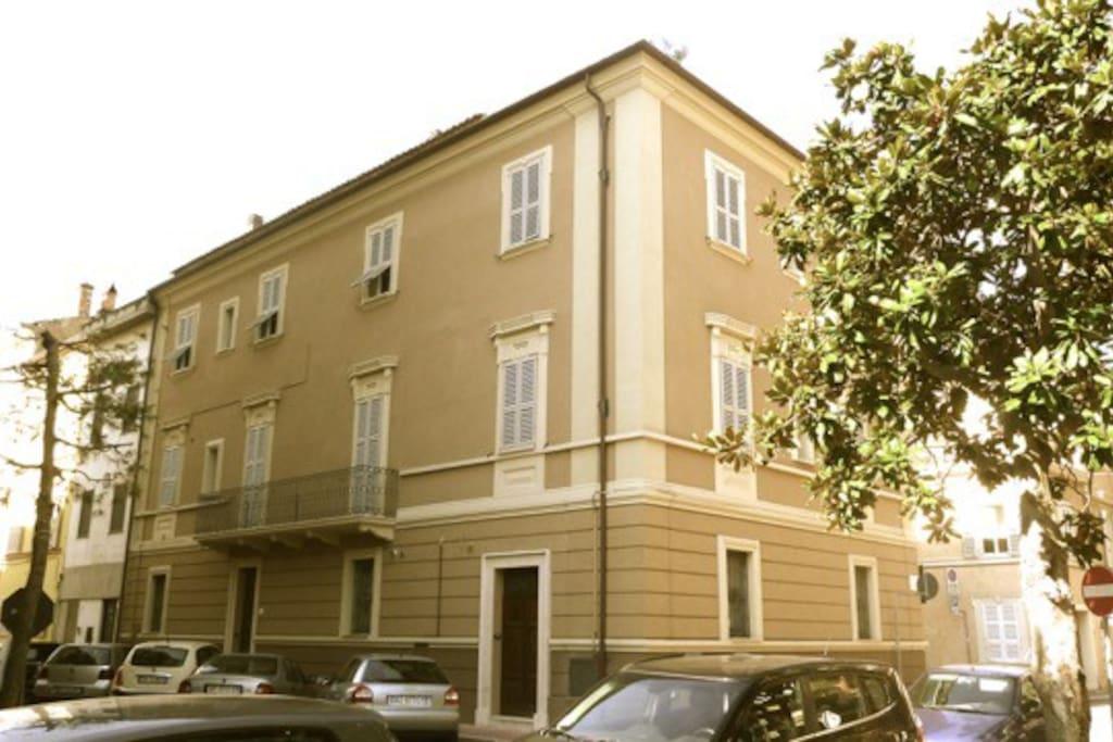 Casa dall'esterno