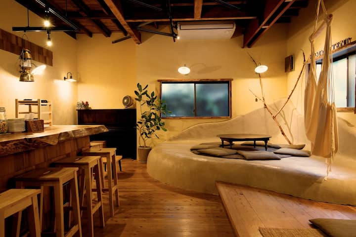 【24h Private Onsen】 HAKONE TENT Triple room