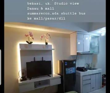 Disewakan Studio Apart.Springlake Sumarecon Bekasi