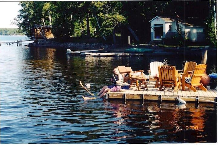 Cozy Cabin at Catchacoma Lake in the Kawartha's