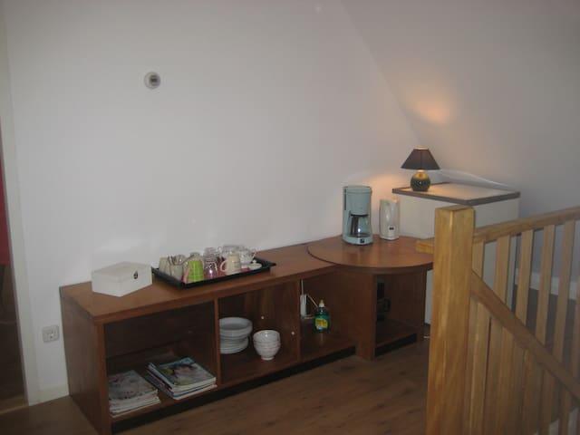 Eigen koffie- en theezetfaciliteiten