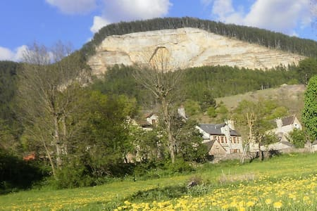 maison de hameau, location à la semaine uniquement - Saint-Bauzile - Дом