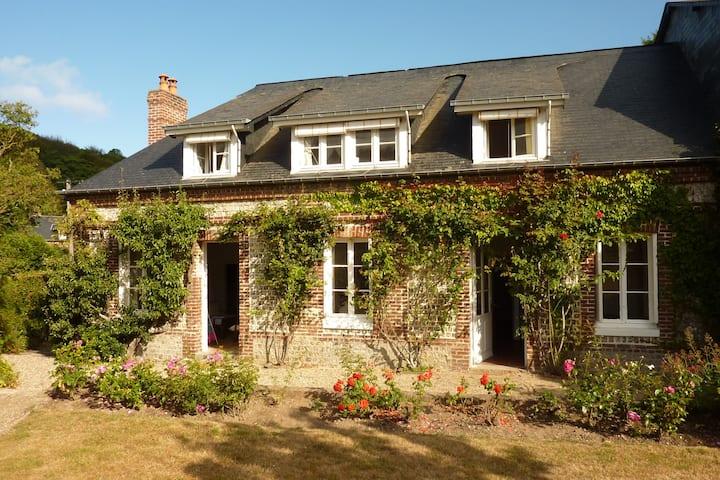 Maison de charme en Normandie - 300 m de la plage