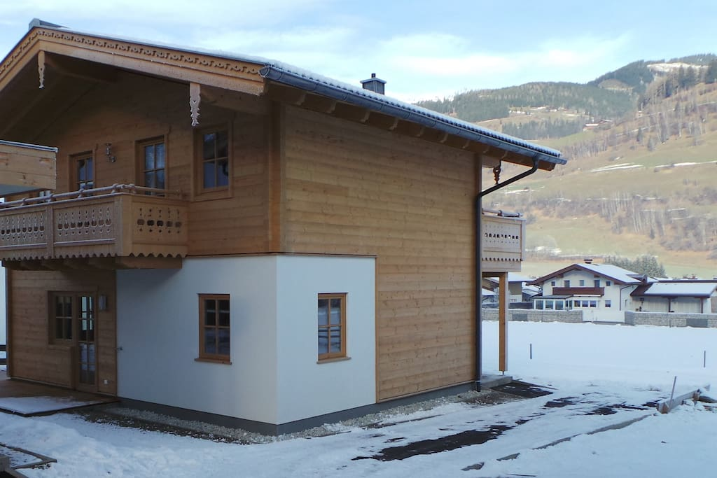 The back of the chalet