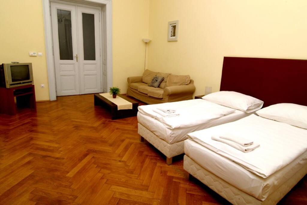 Living room - view B