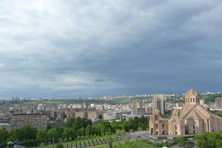 Wi-FI, TV, Pianino, free breakfast - Yerevan - Apartment