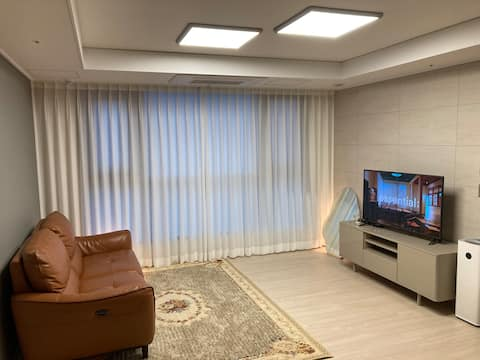 (**오픈할인)SRT 동탄역 초역세권,롯데백화점 연결,동탄 뷰맛집, <Stay Warm>