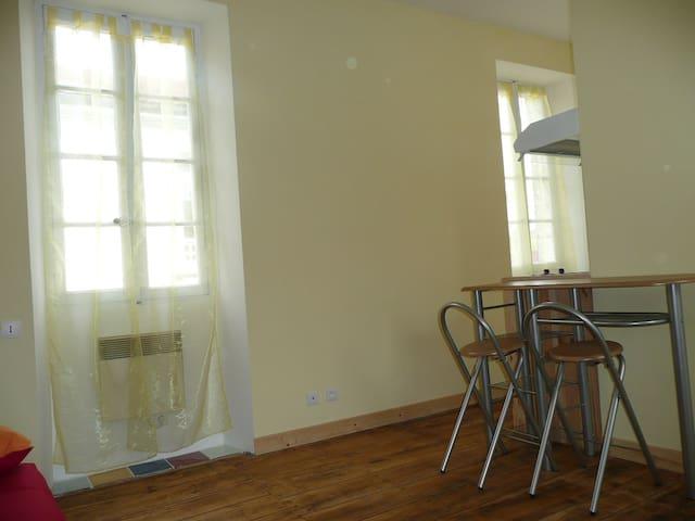 Studio meublé et équipé en ville - Angoulême - Appartement