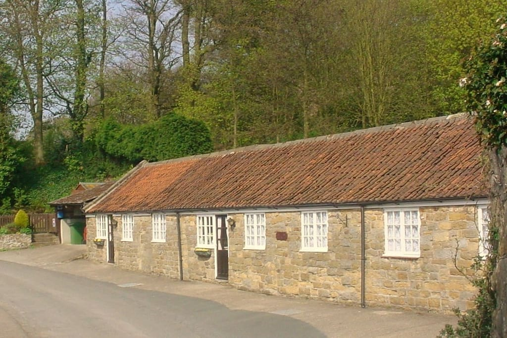 All 3 cottages within a tranquil setting