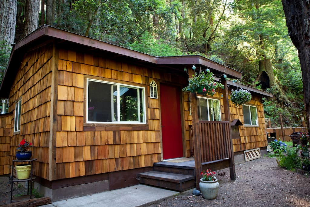 serene redwood haven in big sur cabins for rent in