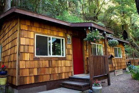 Serene Redwood Haven in Big Sur - Cottage