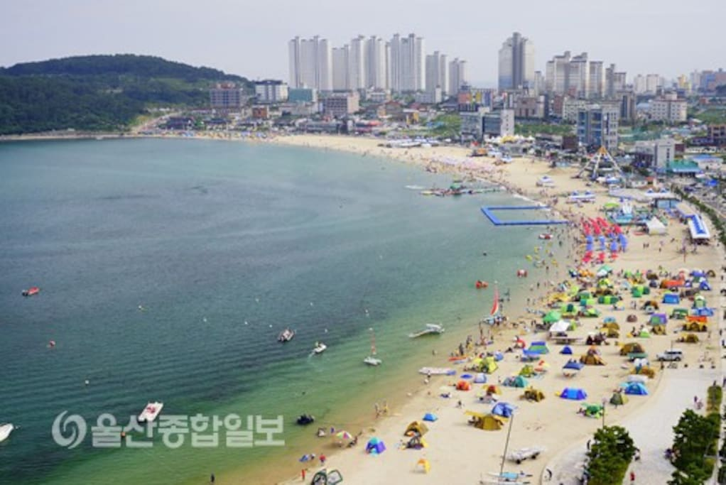 Ilsan Beach within 5 minutes by car
