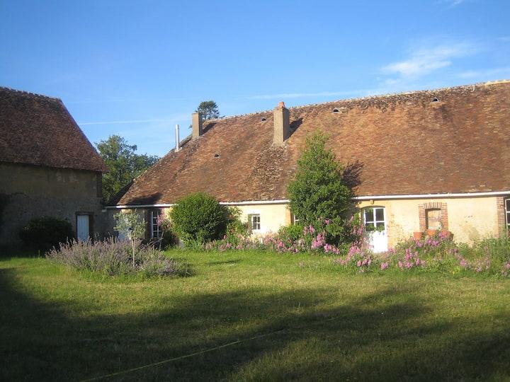 Maison de campagne en Bourgogne