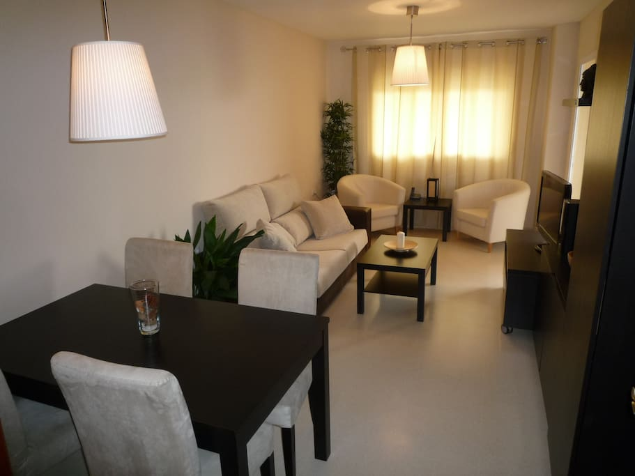 Salón confortable independiente