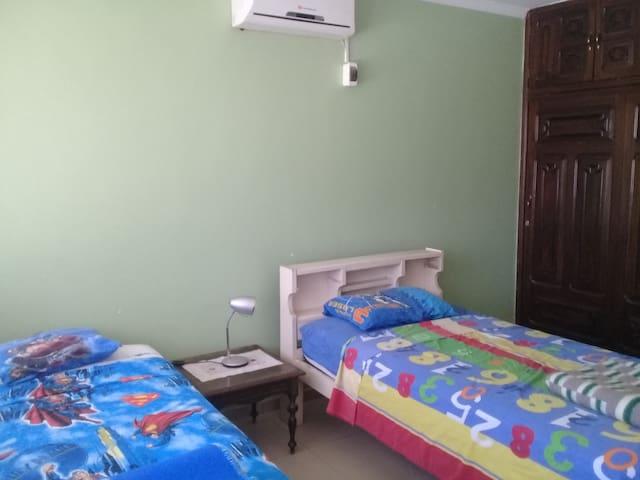 Habitación con Aire Acond. en Casa de Familia