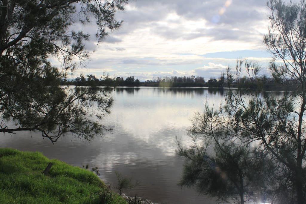 A short walk to the Clarence River
