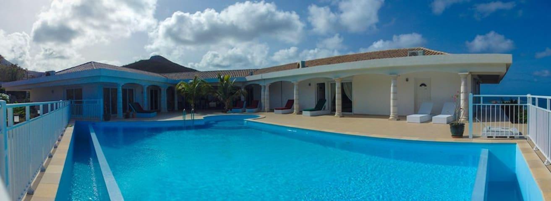 Villa Los Porresras Frances Orient Bay- 6 Bedrooms - Grand-Case - Villa