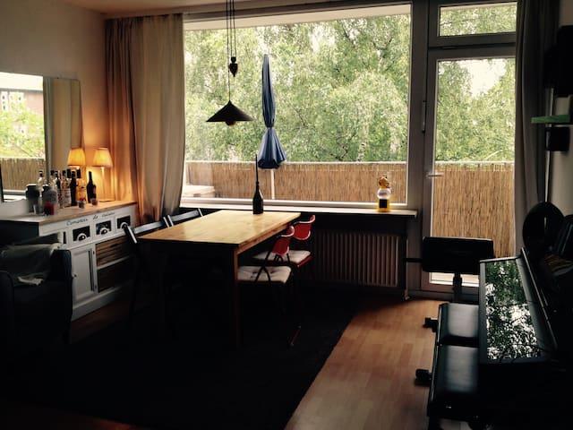 Ruhig und zentral in Eimsbüttel - Hambourg - Appartement