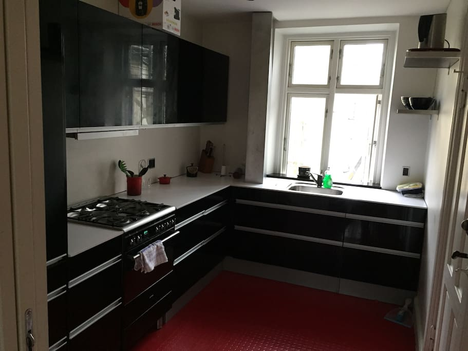 New kitchen with all that you need