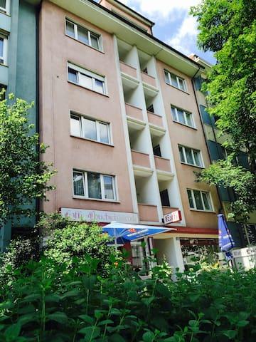 Apartment with bathroom and kitchen - Basel - Daire