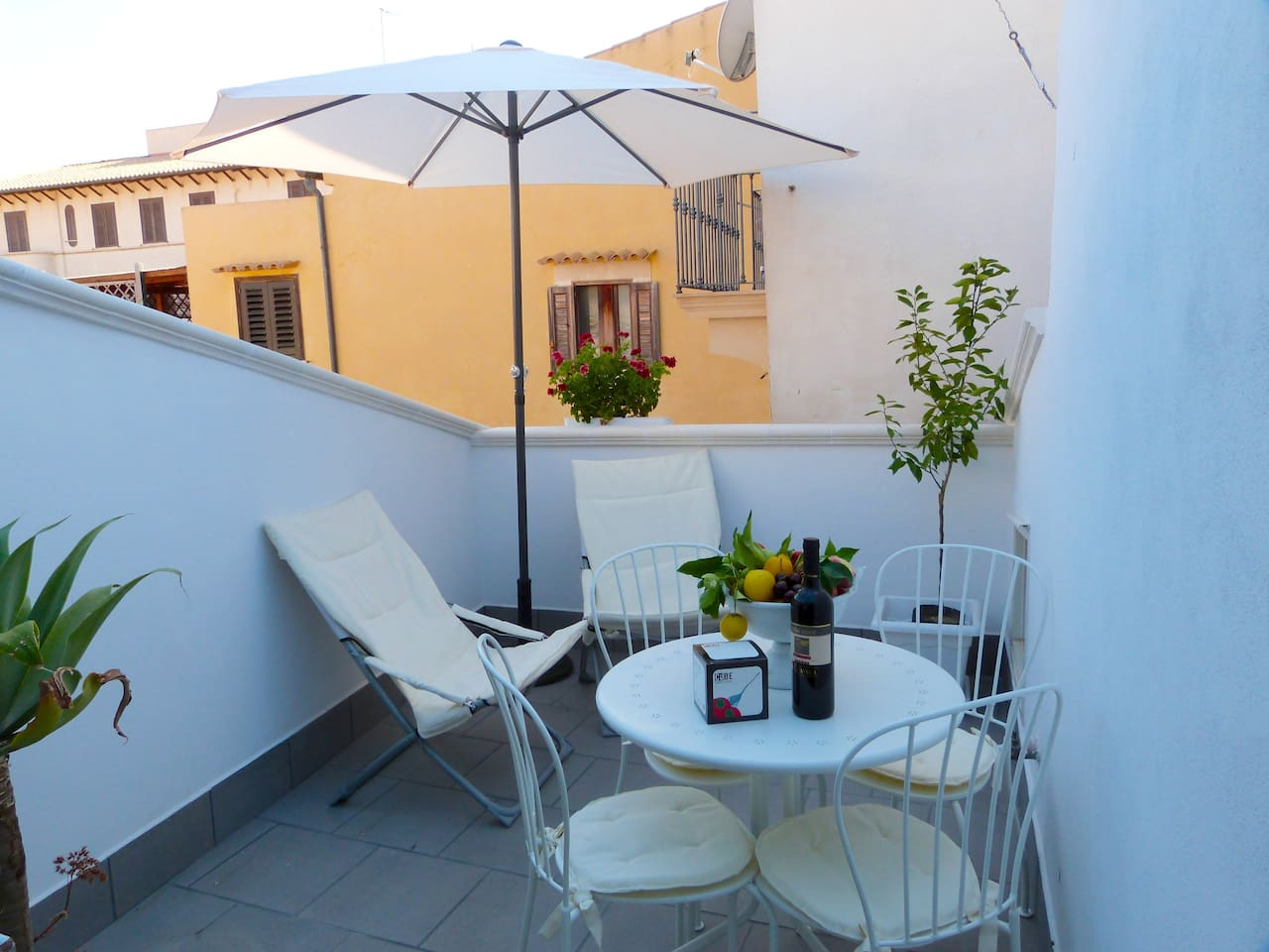 Exclusive Terrace for drink and relax