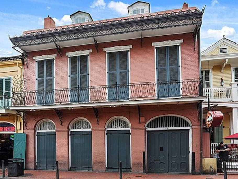 Bourbon Street Bed And Breakfast