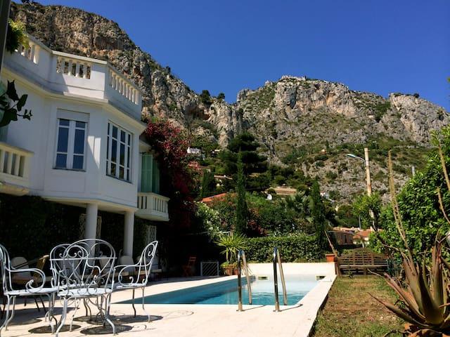 Palloma pool terrace - Èze - Casa