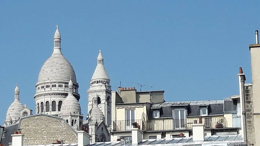 Flat in center of Paris, with lovely view!