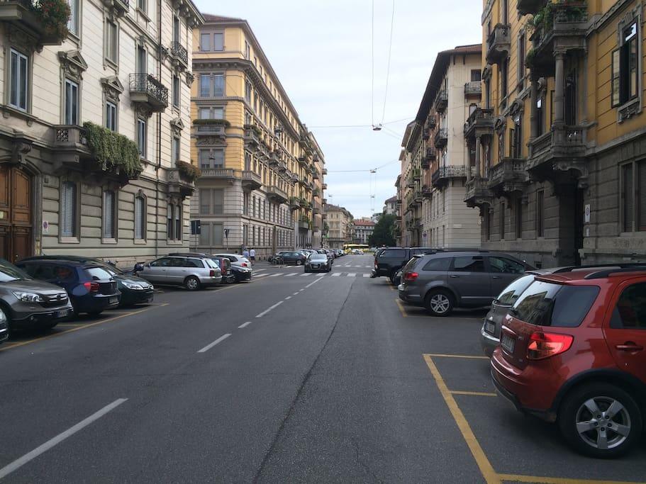 Via Aurelio Saffi
