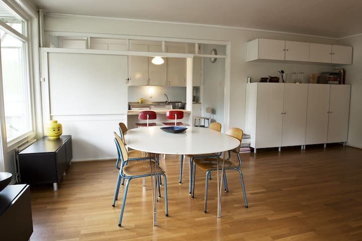 Quiet surroundings & free parking. - Oslo - Apartment