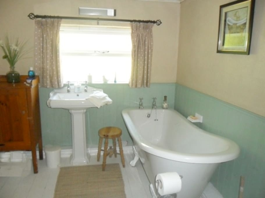 The guest bathroom in our cottage