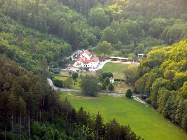 Ubytování v přírodě - Brno