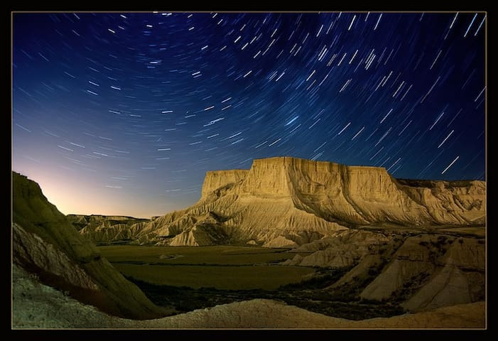 Desierto de Bardenas y Senda Viva
