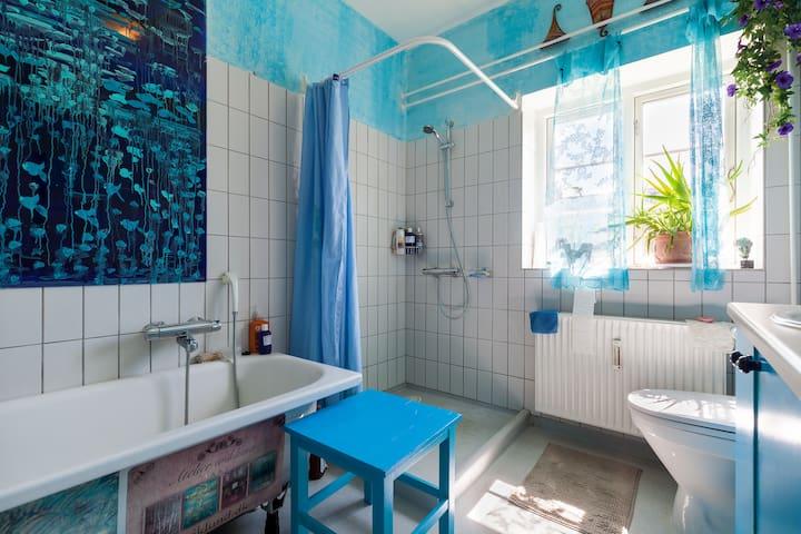 Room for two in artist home - Aarhus - Ev