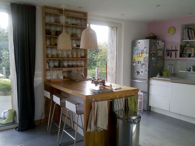 Morlaix, chambre et petit déjeuner - Morlaix - Huis