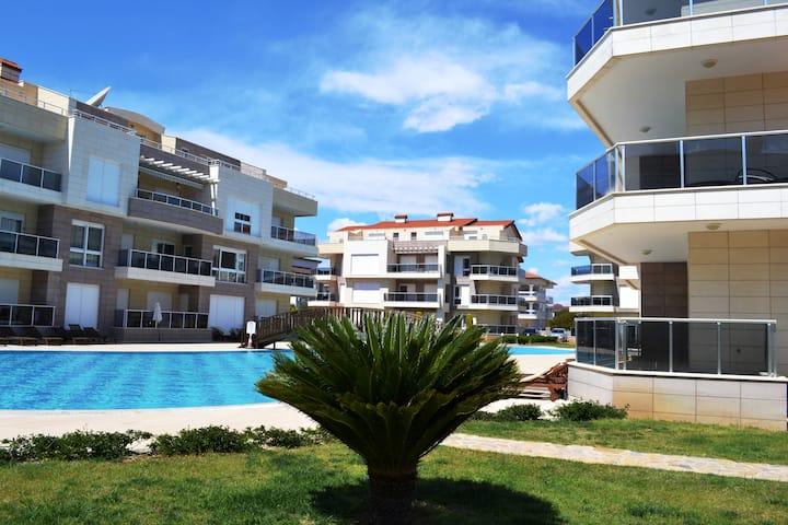 Antalya belek odyssey park pool view