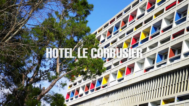 Hôtel le Corbusier CHAMBRE SINGLE 16M2 BALCON