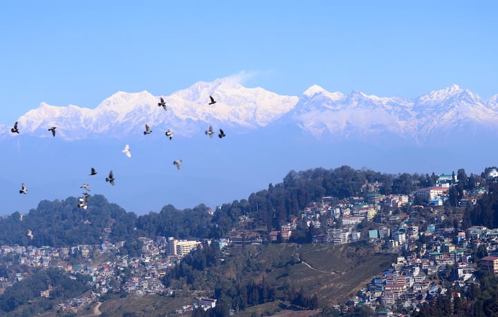 Enjoy Mt.Kanchenjunga View From HIMAWAS Darjeeling