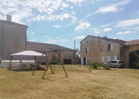 Chambre double à 15 minutes de Saint-Emilion